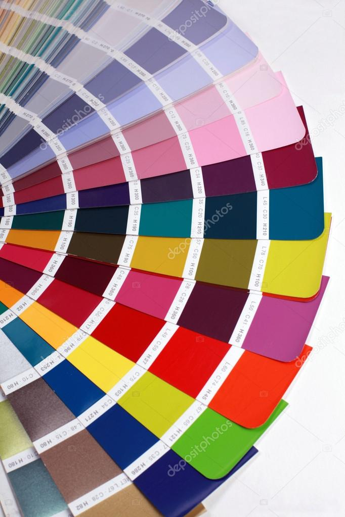 Detail Of Ral Color Chart  Stock Photo  Felker