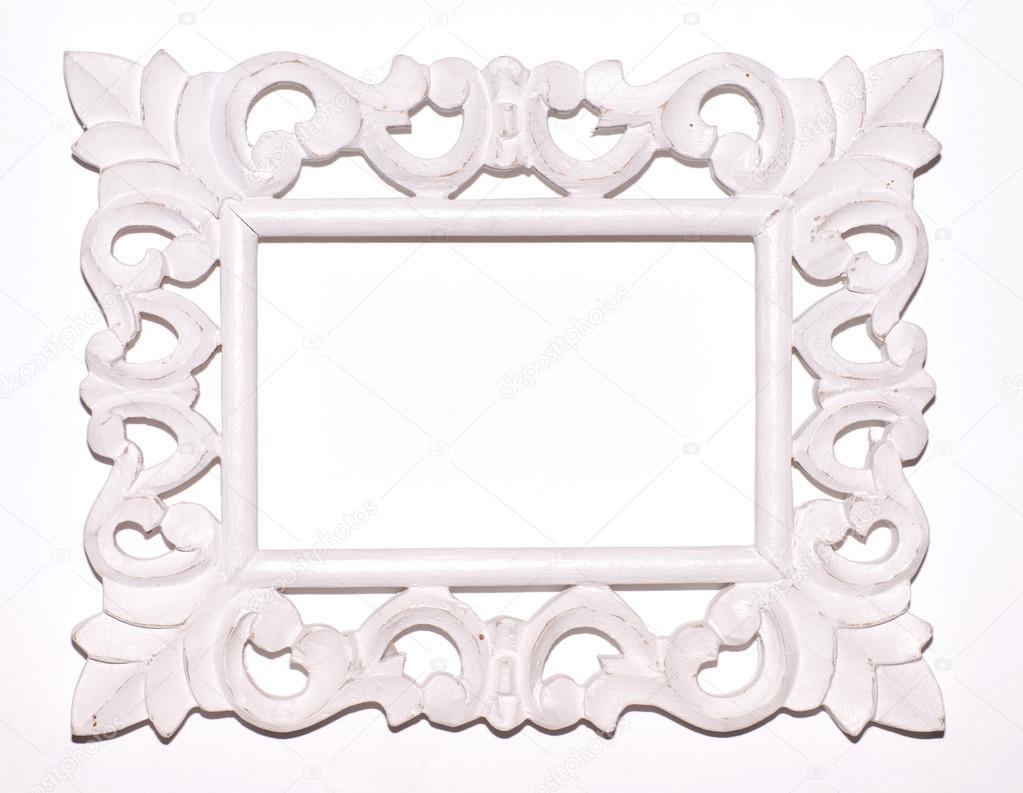 marco blanco Vintage — Foto de stock © felker #16289725