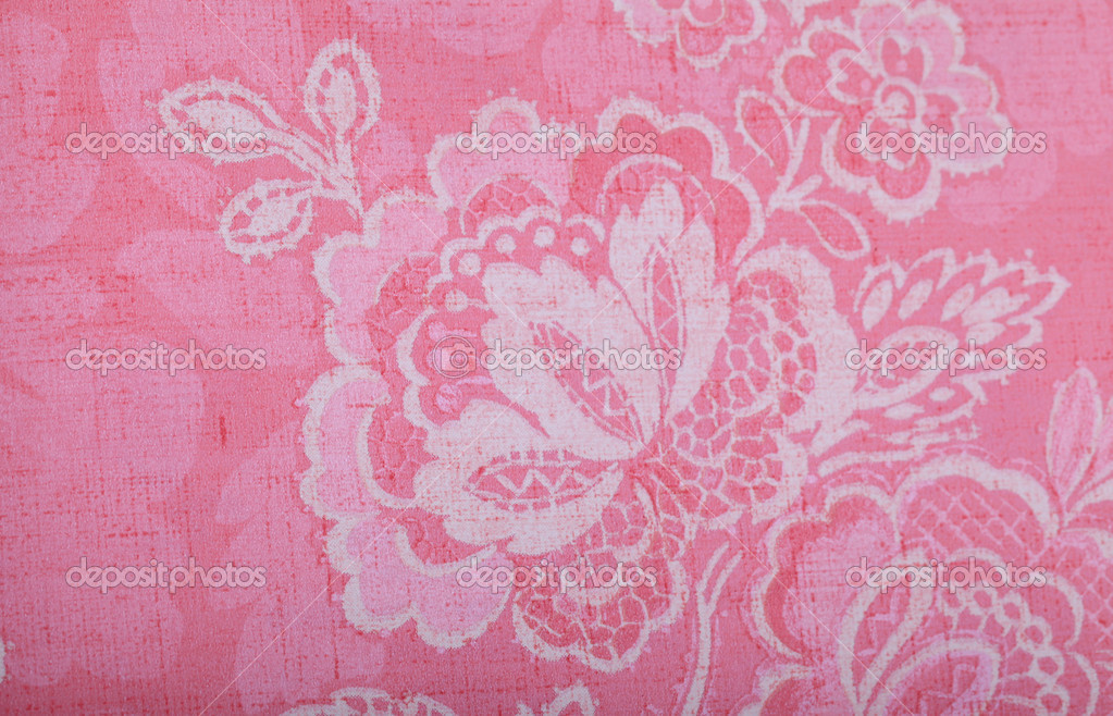 Carta Da Parati Damascata Rosa : Carta da parati vintage rosa u foto stock felker