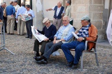 Old men talking