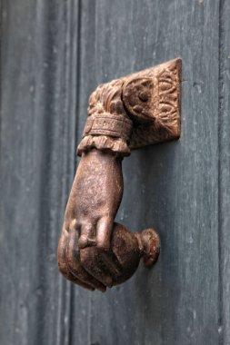 Antique brass knocker
