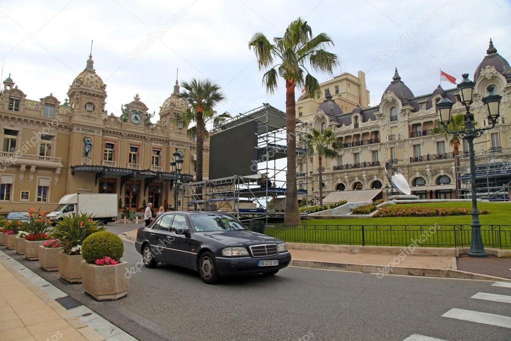Casino Monte Carlo And Hotel De Paris In Monaco