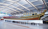 Alte Schiff Galleon im maritime Museum, Lissabon, portugal