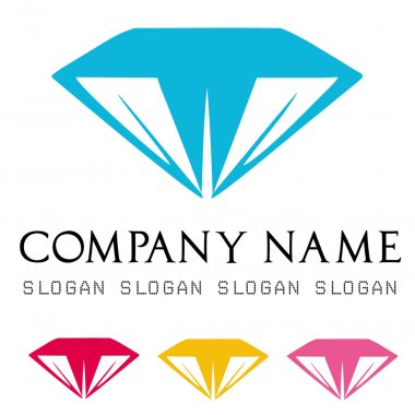 Diamonds logo vector