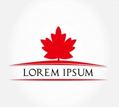 Maple leaf symbol