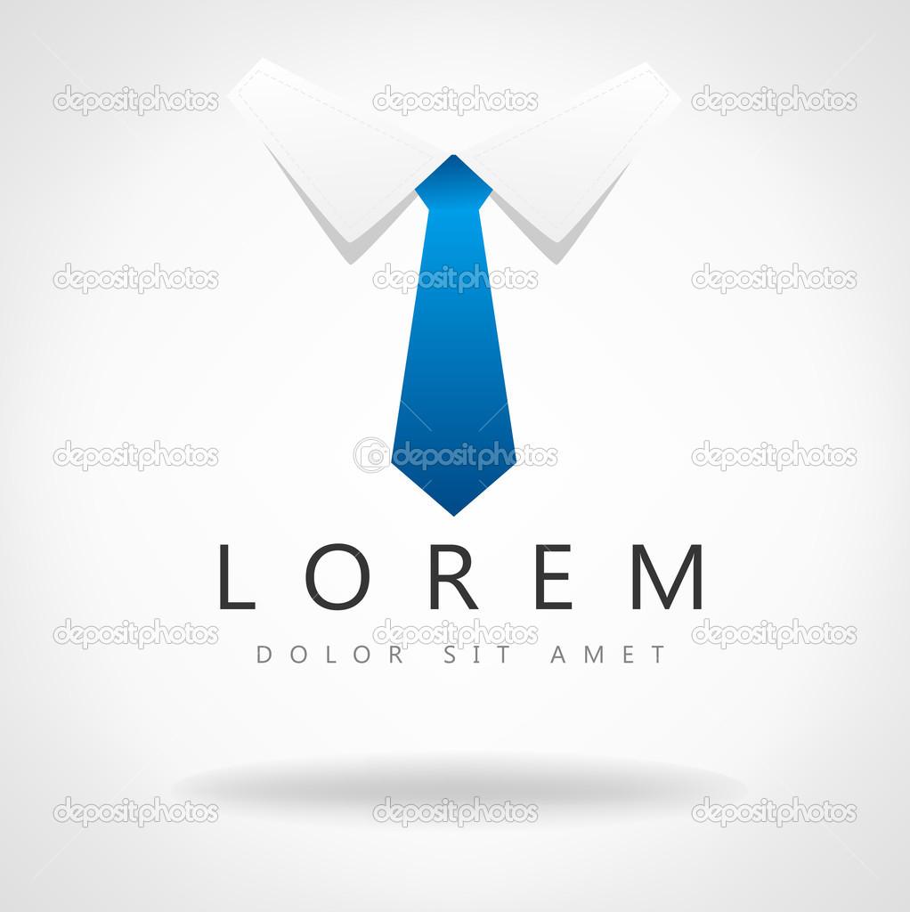 Cravate Vector Symbole De L Entreprise Image Vectorielle Barcova