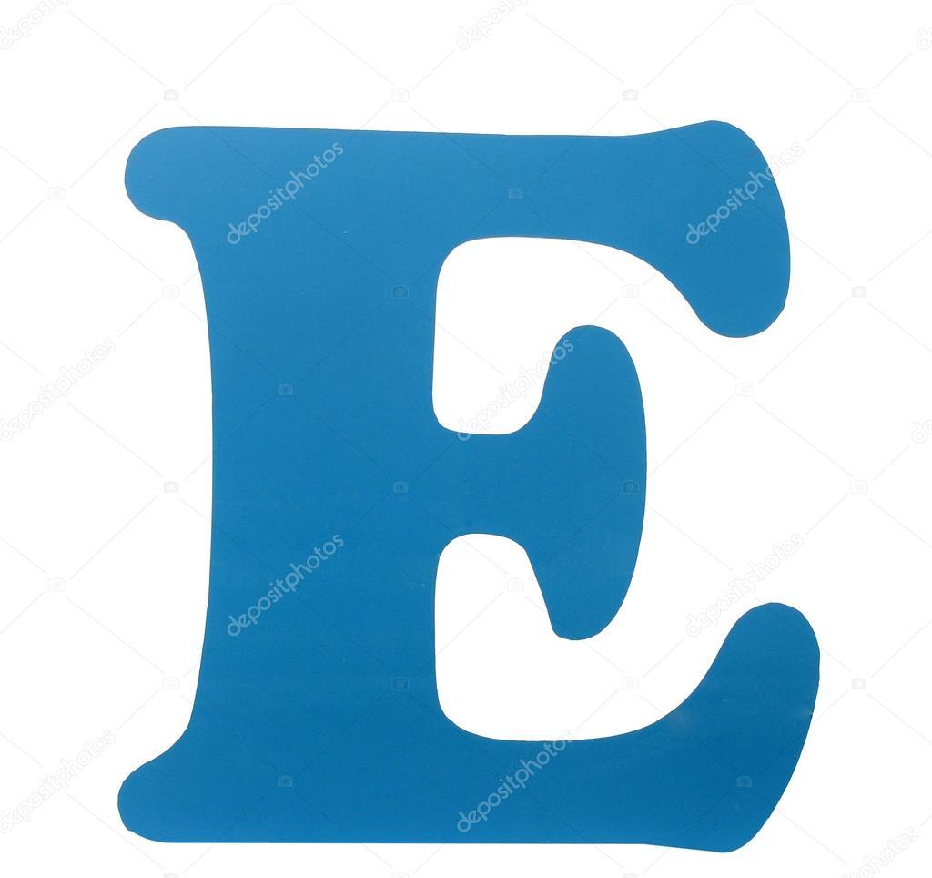E Alphabet Clouds Letter Afbeeldingen stockfotos en