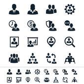 Personalmanagement-Symbole