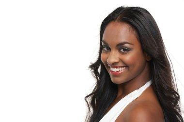 Portrait of a Beautiful Mixed Race Girl