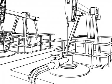 Oil pump close-up