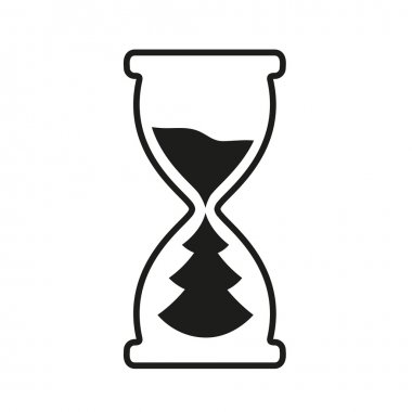 Hourglass time icon