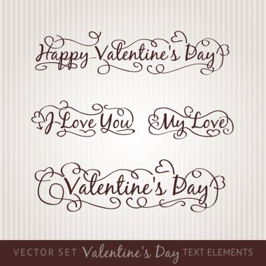 Happy valentine's day hand lettering.