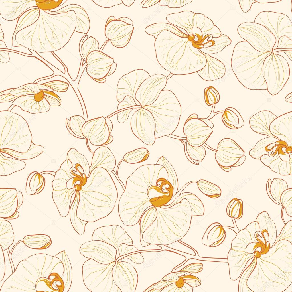 Orchid pattern.