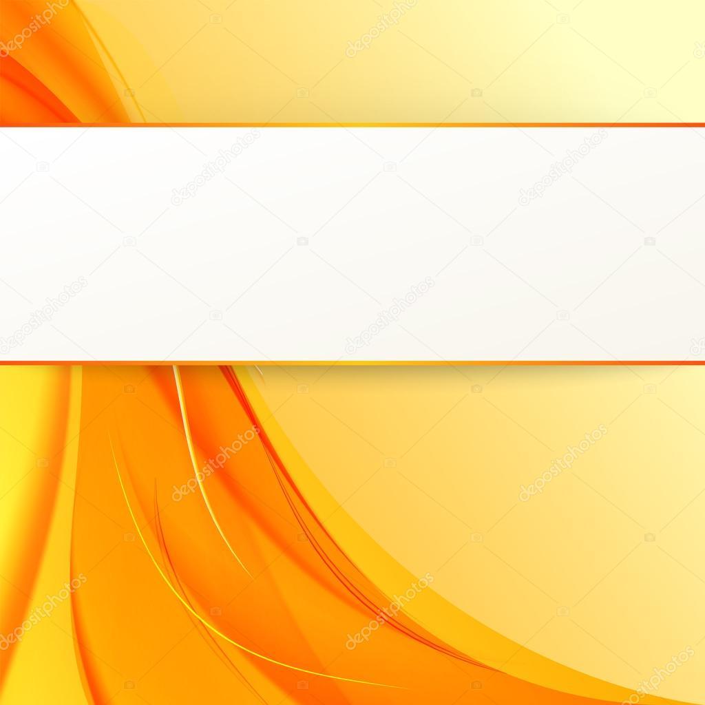 Vector degradados naranja cubra con humo sobre fondo - Amarillo naranja ...