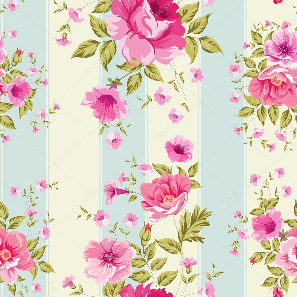 Roses, floral wallpaper