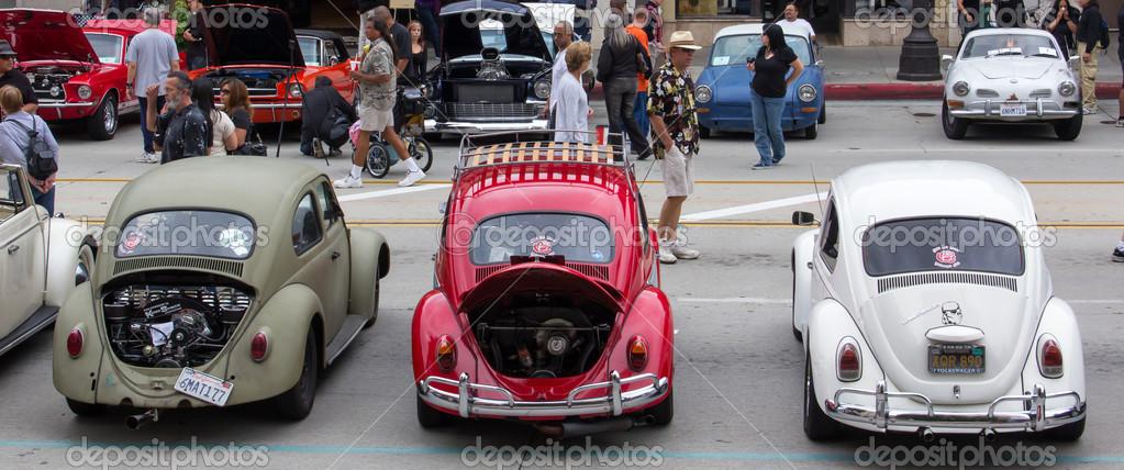 Annual Pasadena Police Class Car Show In Pasadena California - Pasadena car show
