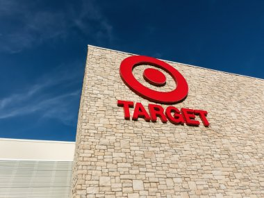 Exterior view of a Target retail store