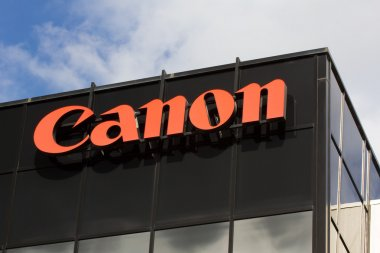 Canon Corporate Headquarters Sign