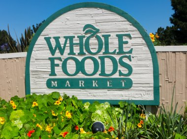 Whole Food Market exterior sign.