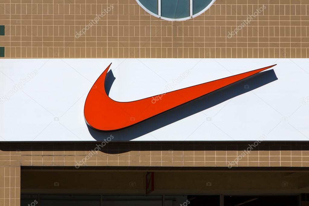Nike Store Exterior Stock Photo