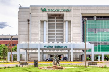 VA Hospital Exterior