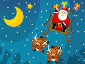 A design karácsonyi helyzet