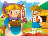 Hosts on the farm