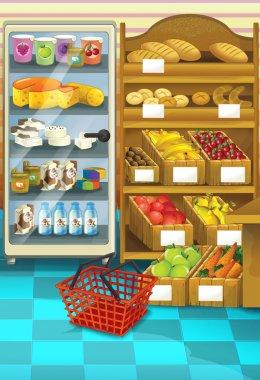 The shop illustration