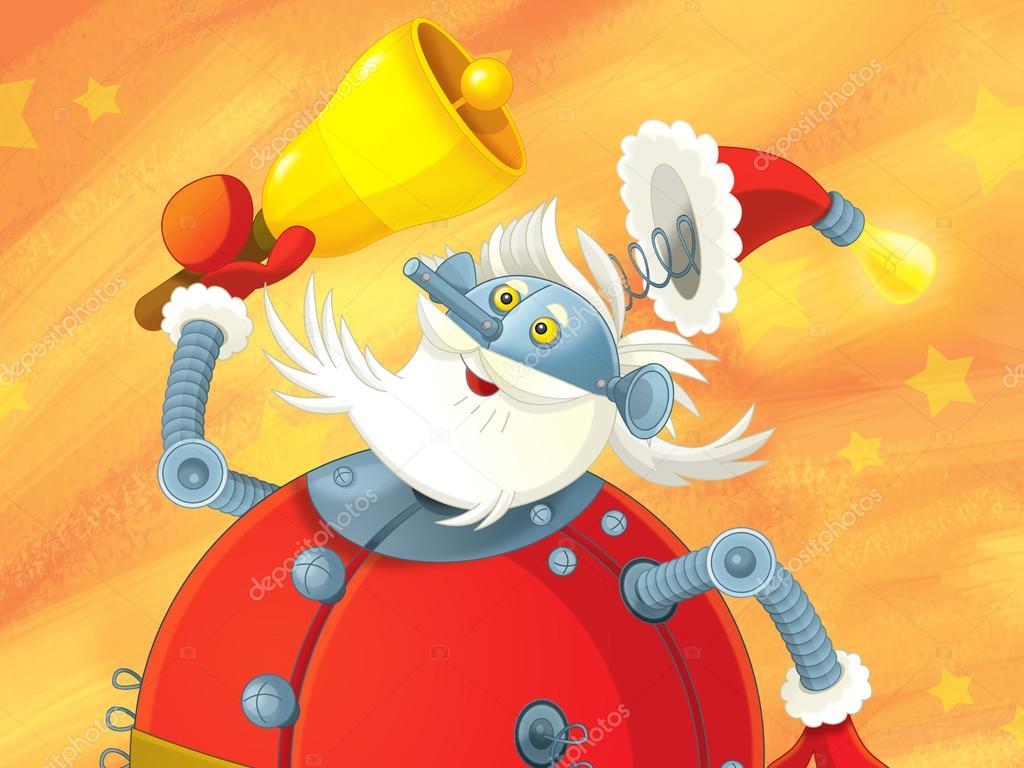 The christmas santa claus