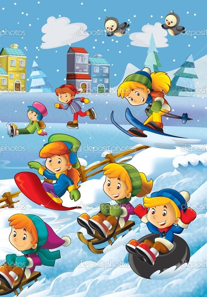 Картинки по запросу картинки для детей зимние забавы
