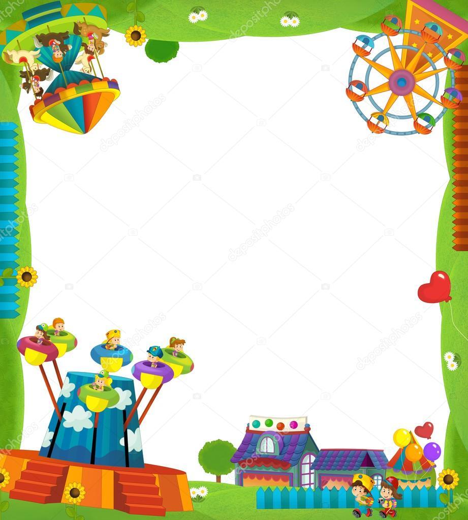 Le cadre de la f te foraine photo 21286183 for Cadre pour enfant