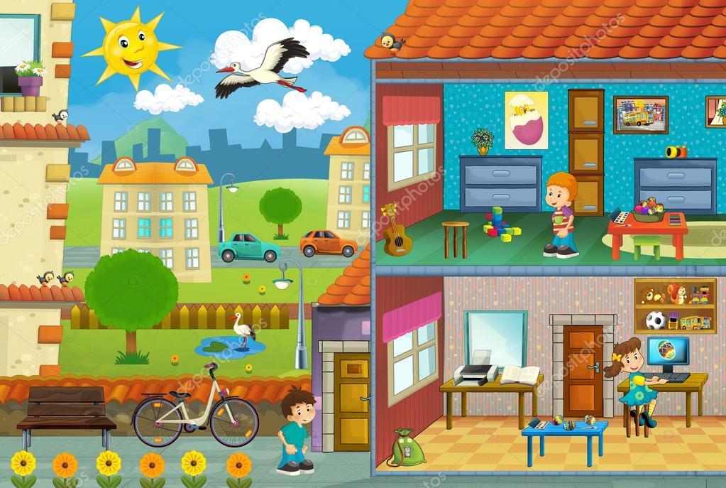 Znalezione obrazy dla zapytania miasto ilustracja dla dzieci