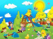 Veselé Velikonoce - ilustrace pro děti