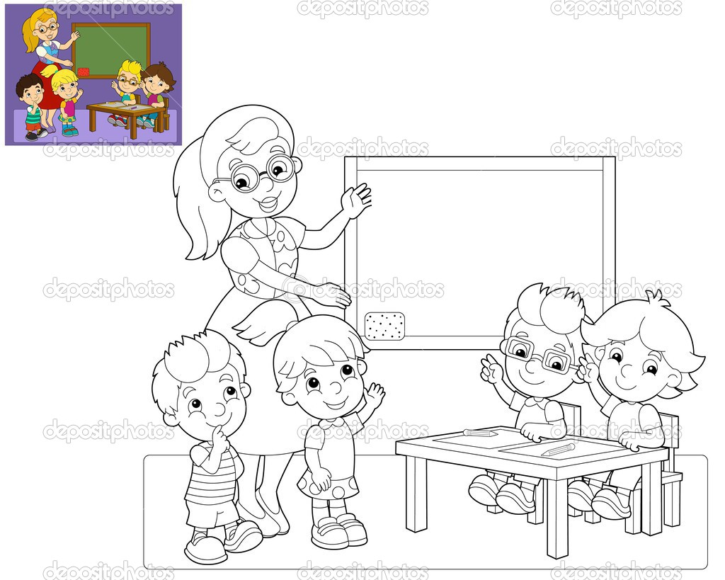 the coloring page the classroom illustration for the free clipart hyena Laughing Hyena Clip Art