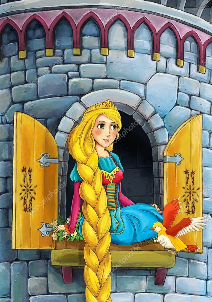 Raiponce prince ou princesse ch teaux chevaliers et des f es illustration pour les - Telecharger raiponce ...