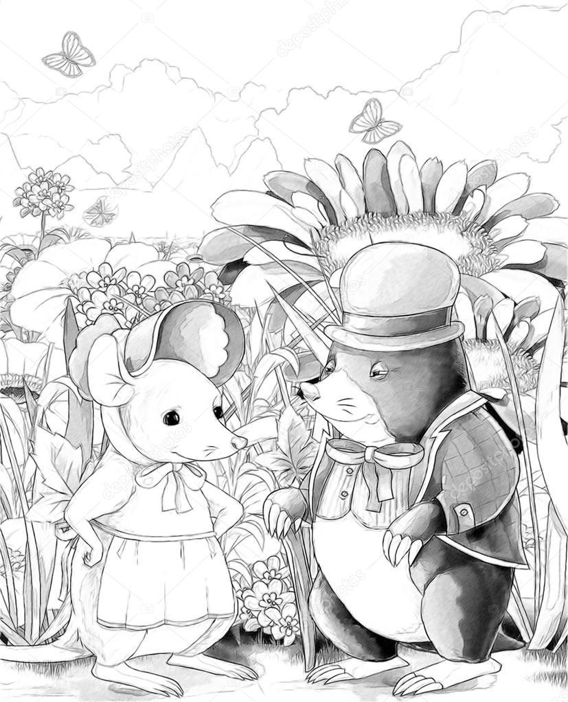 Maulwurf und Maus - ein Märchen \