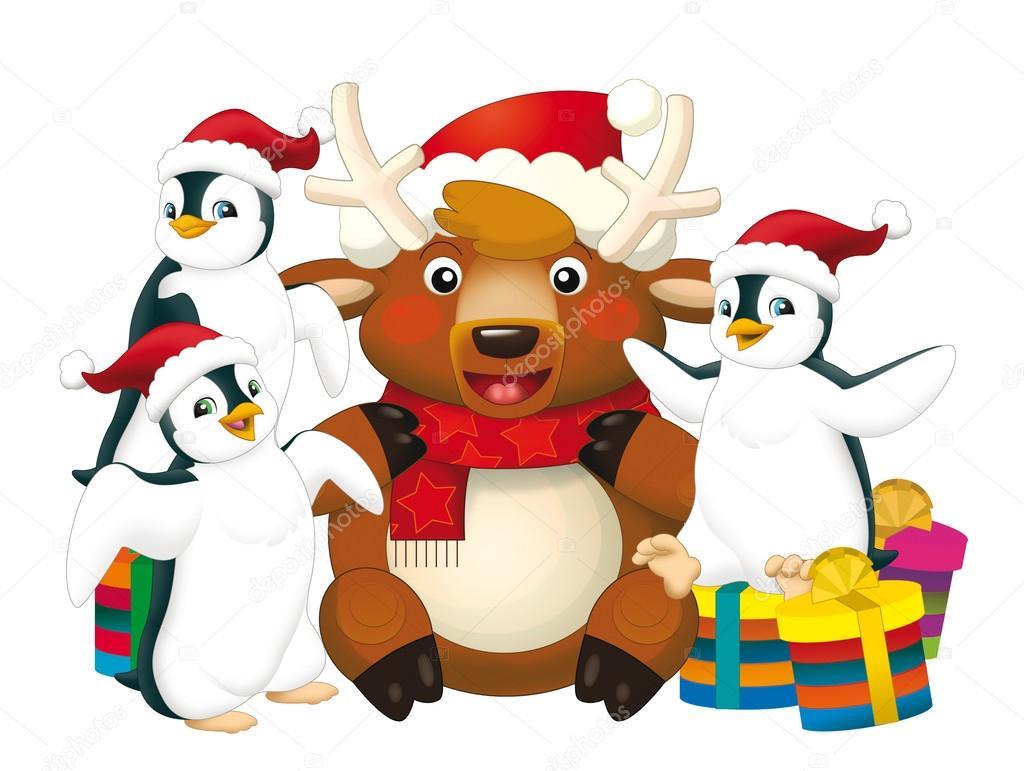 Weihnachten-Bündel — Stockfoto © illustrator_hft #34274753