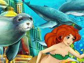 moře a mořské panny