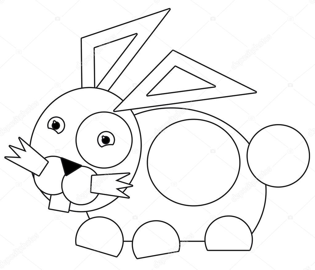 Karikatur-Tier - Malvorlagen - Illustration für die Kinder ...