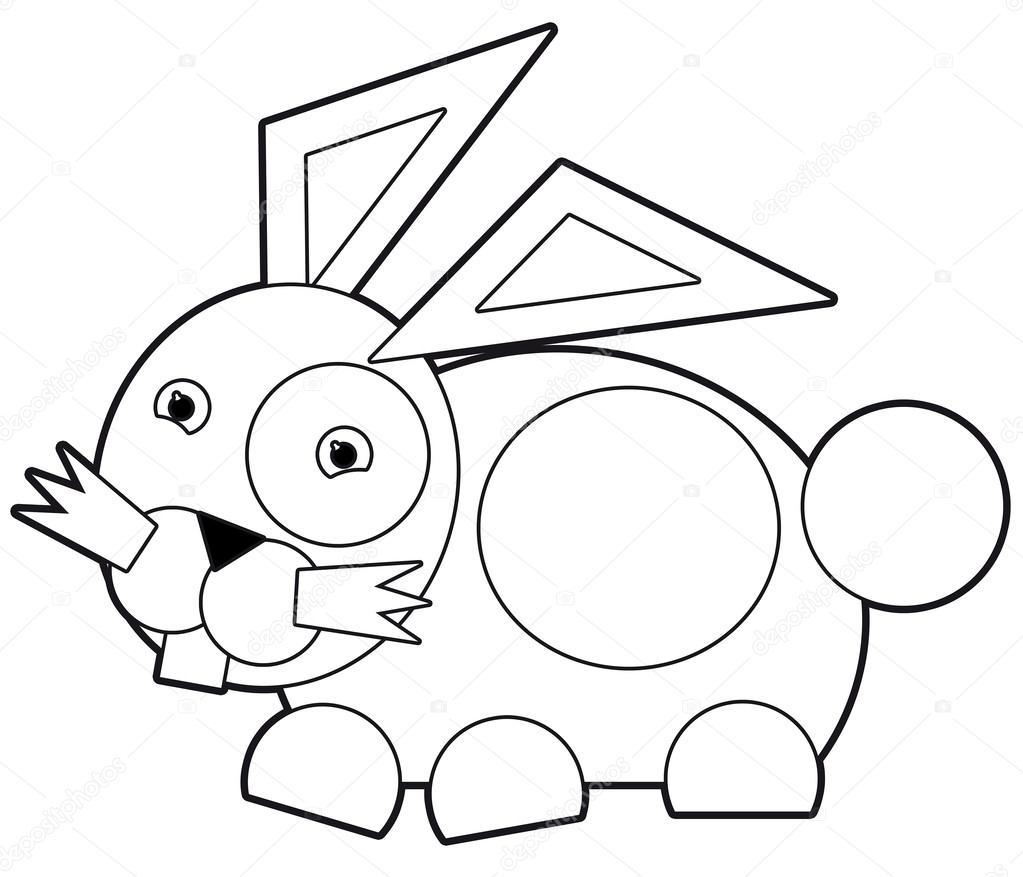 Disegni Da Colorare Bambini Animali.Fumetto Illustrazione Disegni Da Colorare Animali Per I