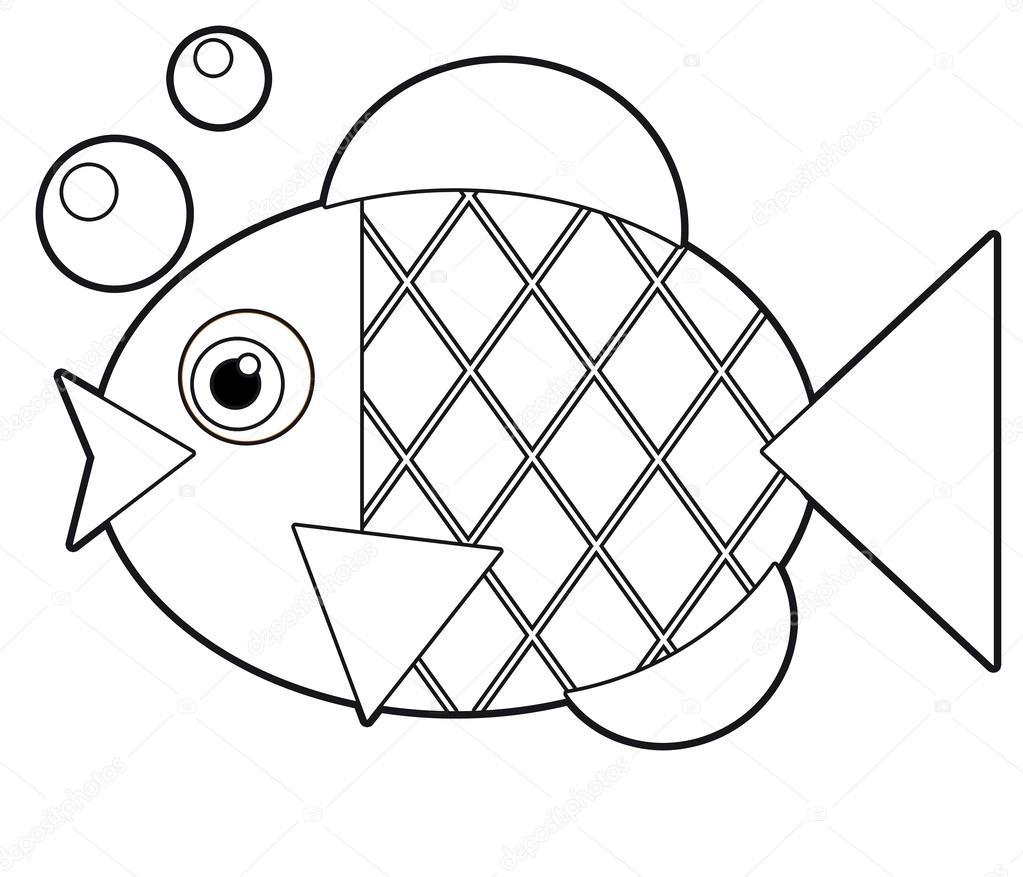 dibujos animados de animales - Página para colorear - ilustración ...