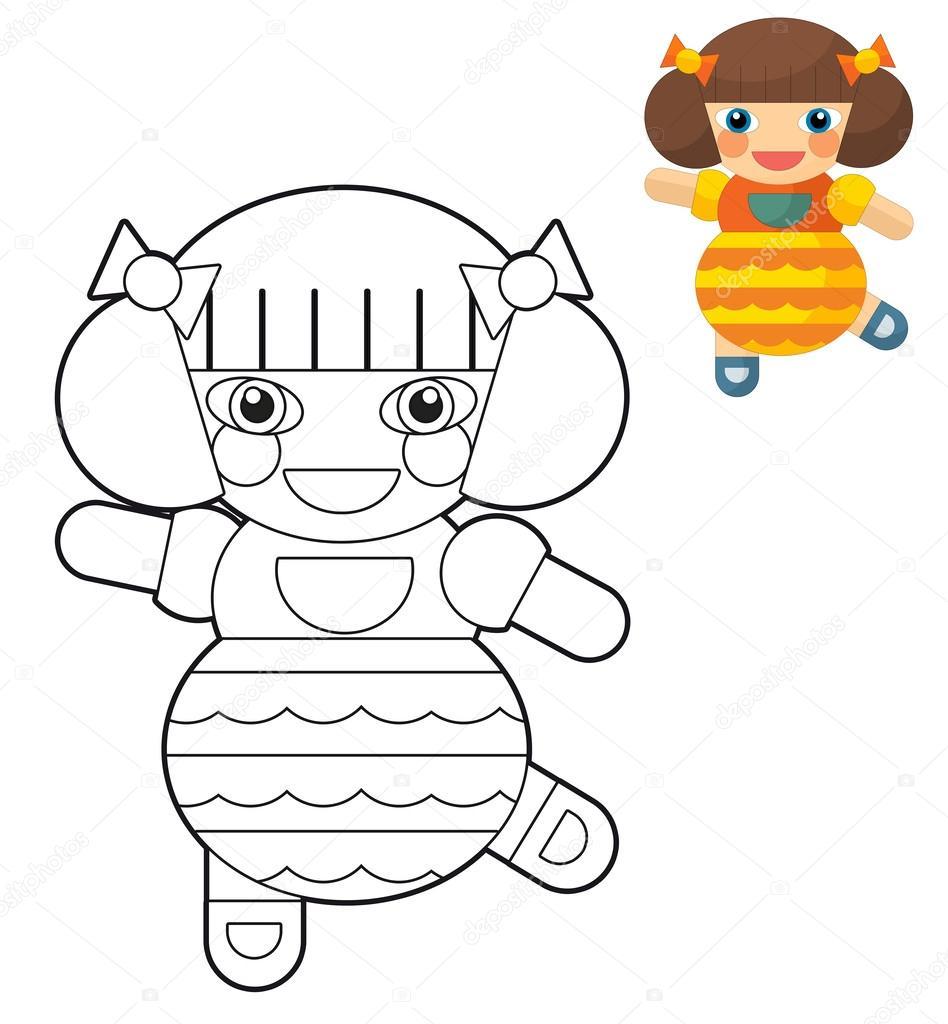 Kız Erkek Bebek Sayfa Boyama çizim çocuklar Için çizgi Film
