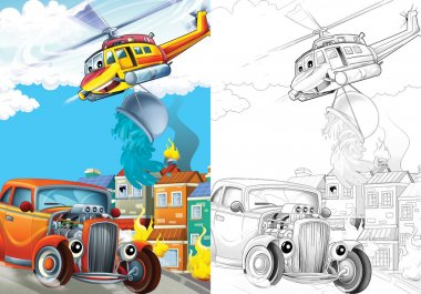 Cartoon vehicle