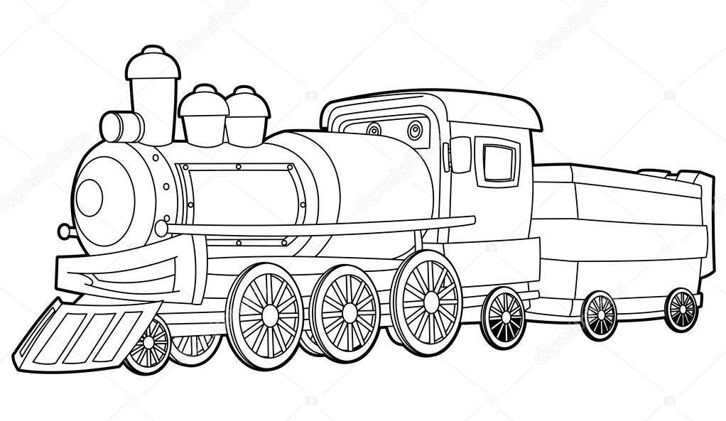Imágenes: locomotora para colorear | Página para colorear-locomotora ...