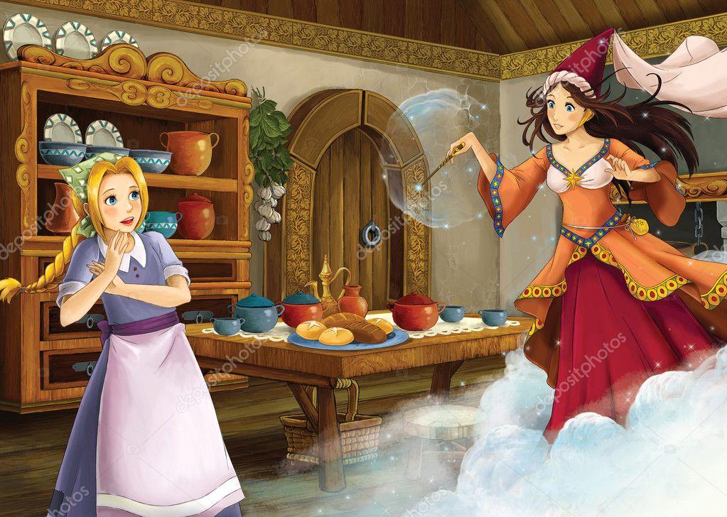 the princesses cinderella castles stock photo illustrator hft