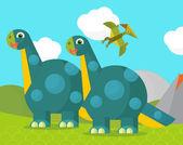 cartone animato stegosauro