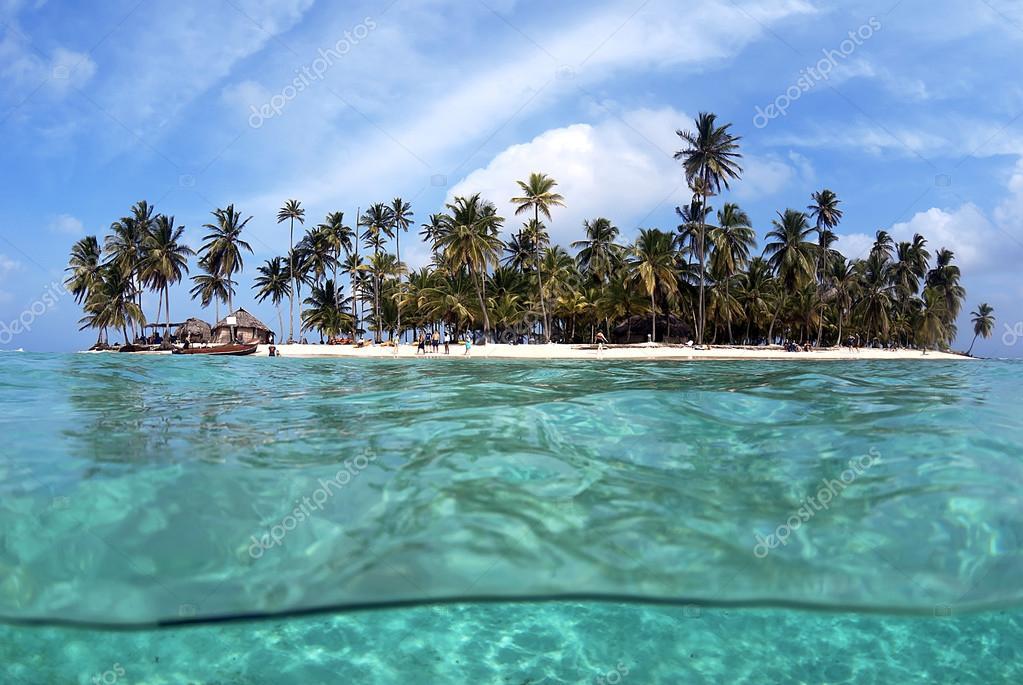 Tropical Island, San Blas Archipelago,Panama