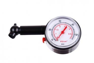 Manometer for measuring tire pressure