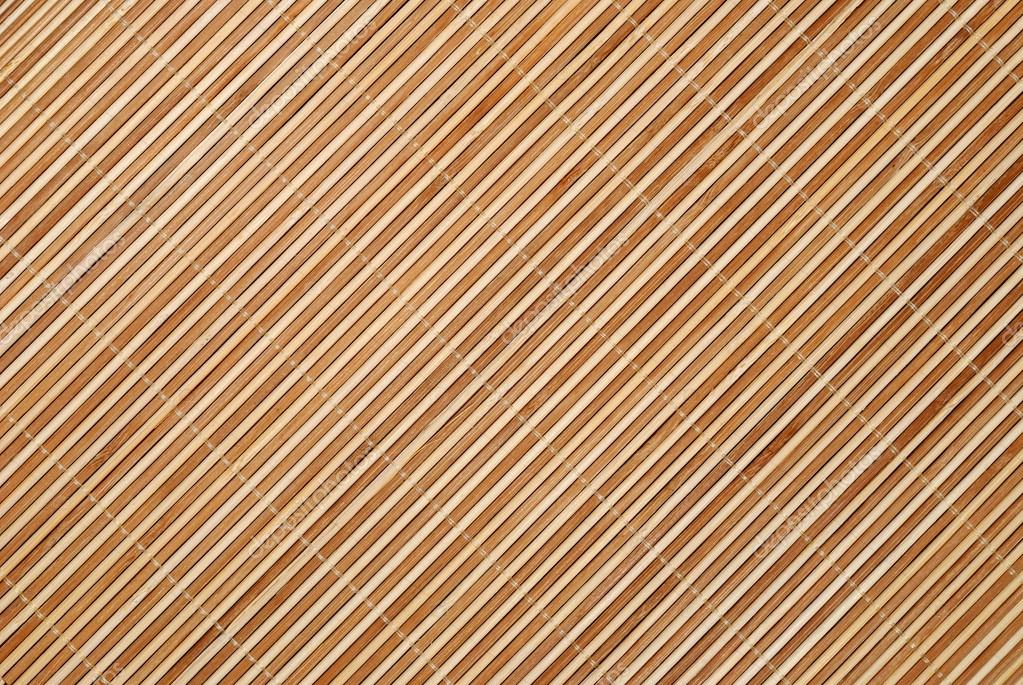 Hintergrund Aus Bambus Tischdecke Stockfoto C Soleg 12119705