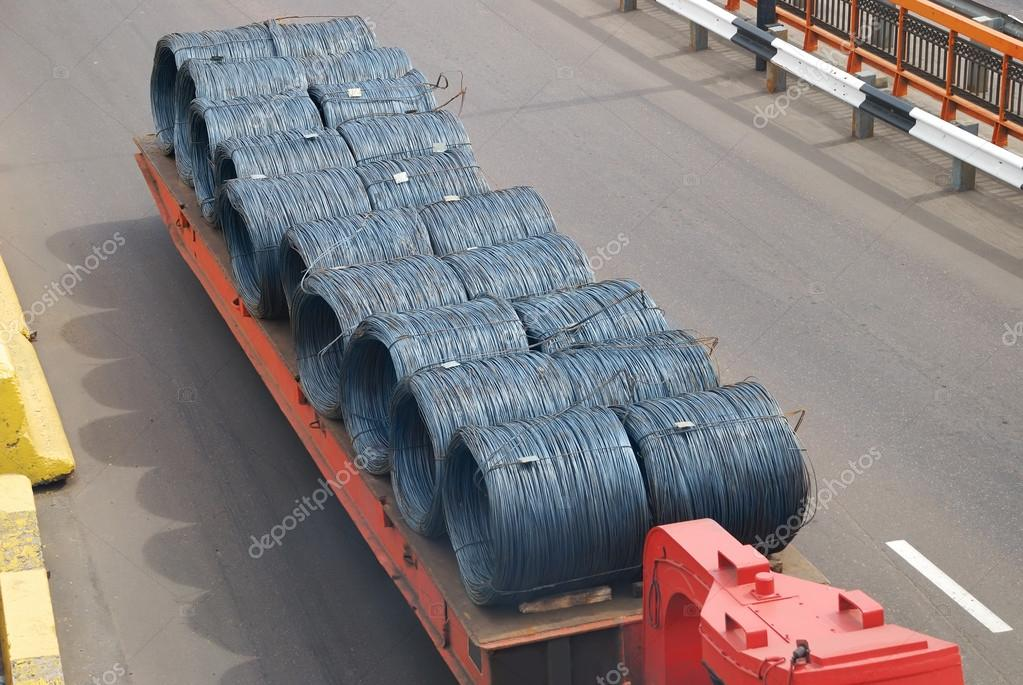 Transportation of metal products